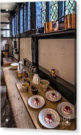Victorian Desserts Acrylic Print by Adrian Evans