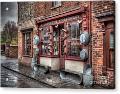 Victorian Hardware Store Acrylic Print by Adrian Evans