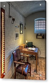 Victorian Jail Office Acrylic Print by Adrian Evans