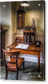 Victorian Medical Office Acrylic Print by Adrian Evans