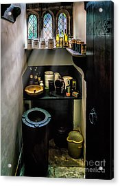 Victorian Pantry Acrylic Print by Adrian Evans