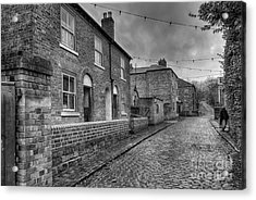 Victorian Street Acrylic Print by Adrian Evans