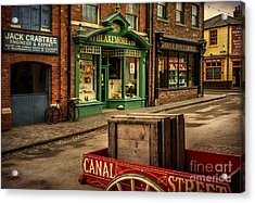 Victorian Town Acrylic Print by Adrian Evans