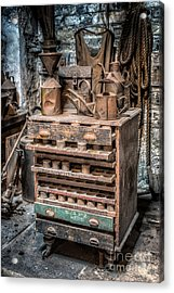 Victorian Workshop Acrylic Print by Adrian Evans