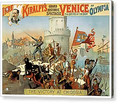 Victory At Chioggia Acrylic Print by Terry Reynoldson