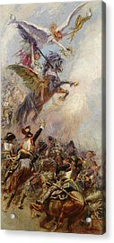 Victory Acrylic Print by Jean-Baptiste Edouard Detaille