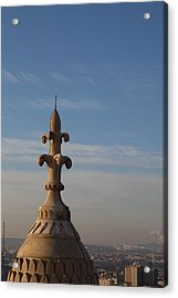 View From Basilica Of The Sacred Heart Of Paris - Sacre Coeur - Paris France - 011323 Acrylic Print by DC Photographer
