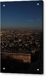 View From Basilica Of The Sacred Heart Of Paris - Sacre Coeur - Paris France - 011329 Acrylic Print by DC Photographer