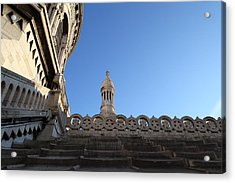 View From Basilica Of The Sacred Heart Of Paris - Sacre Coeur - Paris France - 01134 Acrylic Print by DC Photographer