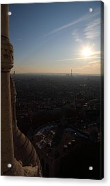 View From Basilica Of The Sacred Heart Of Paris - Sacre Coeur - Paris France - 01139 Acrylic Print by DC Photographer