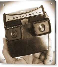 View - Master Acrylic Print by Mike McGlothlen