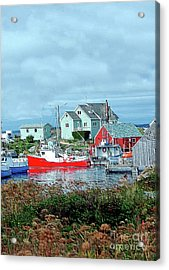 View Of Cove Acrylic Print by Kathleen Struckle