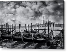 View Of San Giorgio Maggiore Venice Acrylic Print by Design Remix