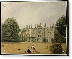 View Of Strawberry Hill Middlesex Acrylic Print by Gustave Ellinthorpe Sintzenich