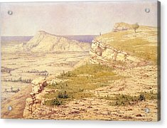 View Of The Island Of Rhodes Acrylic Print by Richard Dadd