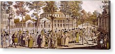 View Of The Jubilee Ball, Ranelagh Acrylic Print by English School