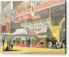View Of The Sheffield Hardware Stand Acrylic Print by English School