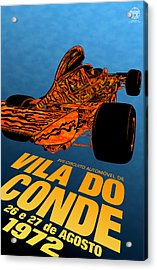 Vila Do Conde Portugal 1972 Grand Prix Acrylic Print by Georgia Fowler