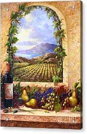 Villa View Acrylic Print by Gail Salituri