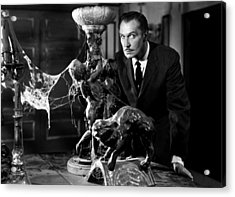 Vincent Price Acrylic Print by Mountain Dreams