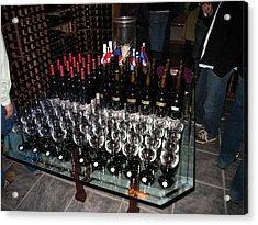 Vineyards In Va - 121271 Acrylic Print by DC Photographer