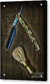 Vintage Barber Tools Acrylic Print by Paul Ward