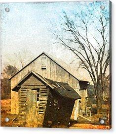Vintage Barn Acrylic Print by Patricia Januszkiewicz