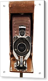 Vintage Camera Acrylic Print by John Rizzuto