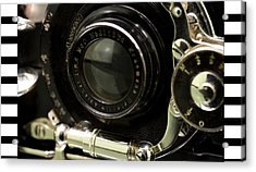 Vintage Camera Acrylic Print by Toppart Sweden