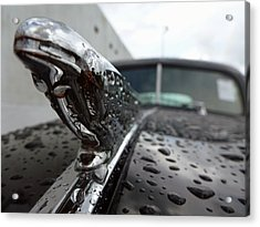 Vintage Chevy Acrylic Print by John Collins