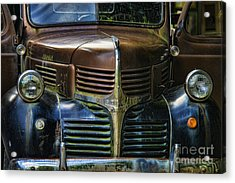 Vintage Dodge Acrylic Print by Mark Newman