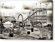 Vintage Funtown Acrylic Print by John Rizzuto