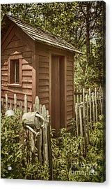 Vintage Garden Acrylic Print by Margie Hurwich