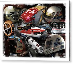 Vintage Indy Acrylic Print by Tom Griffithe