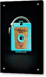 Vintage Sabre 620 Camera Acrylic Print by Jon Woodhams