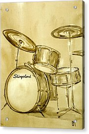 Vintage Slingers Acrylic Print by Pete Maier