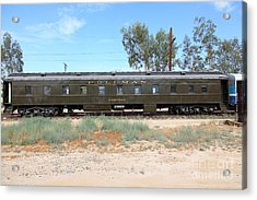 Vintage Southern Pacific 2144 Pullman Car Company Passenger Train 5d28332 Acrylic Print by Wingsdomain Art and Photography