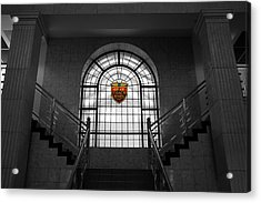 Vintage Stained Glass 2 Acrylic Print by Andrew Fare