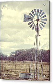 Vintage Texas  Acrylic Print by Kimberly Danner
