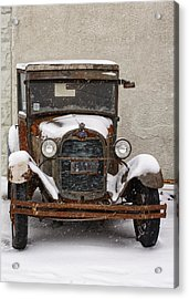 Vintage Treasures Acrylic Print by Kimberly Danner