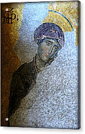 Virgin Mary Acrylic Print by Stephen Stookey