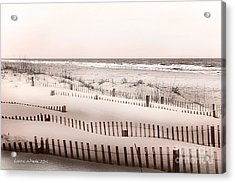 Virgina Beach Vacation Memories Acrylic Print by Artist and Photographer Laura Wrede