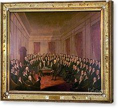 Virginia Convention 1829 Acrylic Print by Granger