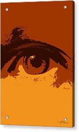 Vision Acrylic Print by Skip Tribby