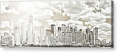 Visions In My Mind Acrylic Print by Janie Johnson