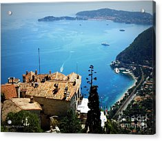 Vista From Eze Acrylic Print by Lainie Wrightson
