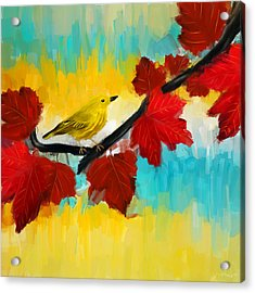 Vividness Acrylic Print by Lourry Legarde