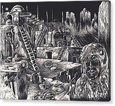 Voice Of Ancient Treasures Acrylic Print by Robert Tiritilli