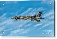 Vulcan Bomber Acrylic Print by Adrian Evans