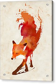 Vulpes Vulpes Acrylic Print by Robert Farkas